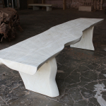 Slab Table Whitewash (2)