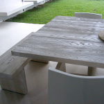 Patio Table and Bench