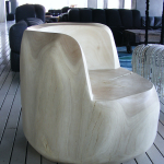 Solid Timber Arm Chair